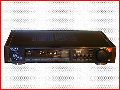 Professional Sony ST-S730ES AM/FM Tuner for Pro Audio System With Service Manual