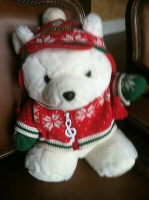 Holiday Santa Bear 1992