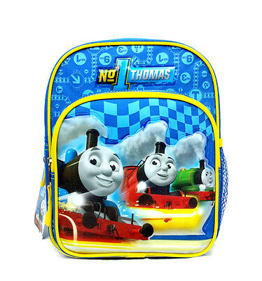 "THOMAS TRAIN & FRIENDS TANK ENGINE #1 MINI TODDLER 10"" BACKPACK Tote Bag NEW!!"
