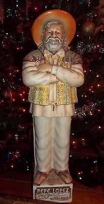 """Pepe Lopez Tequila Decanter 18"""" tall"""