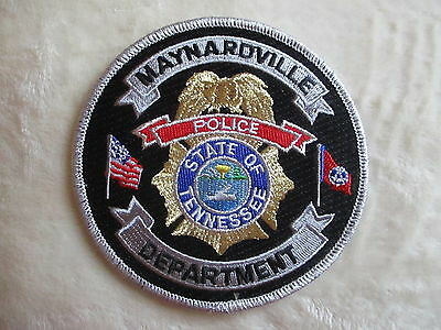 "Maynardville Police Dept Shoulder Patch - Tennessee - 4"" x 4"""