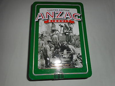 ANZAC LIMITED EDITION 2013 BISCUIT TIN '' BALIKPAPAN 1945 ''  with LETTER