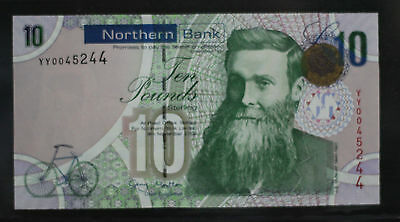 2008 Northern Ireland £10 Pounds Replacement Uncirculated