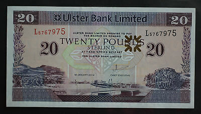 2014 Northern Ireland £20 Pounds Uncirculated !!!
