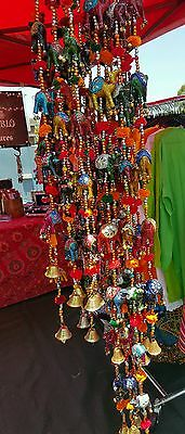 NEW One String with 7 x Camel Indian Middle Eastern Wind Chimes Bells