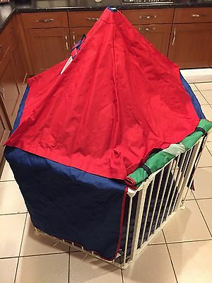 Babydan Playpen Play House Tent Only, Boxed, Free P&P