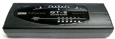 Korg Gt-3 Acoustic, Electric And Bass Guitar Led Tuner With Mic And Line In/out