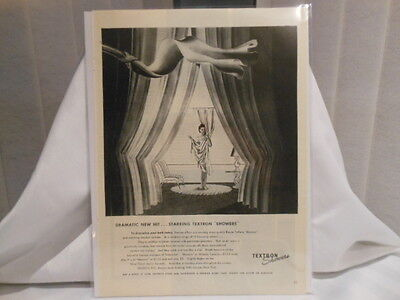 Textron Showers 11X14 Advertising Print Ad