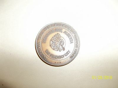 MEDICINE HAT ALBERTA CANADA 1867-1967 CENTURY of PROGRESS TOKEN
