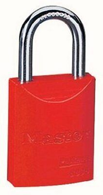 Master Lock 6835RED Safety Series Padlock, Aluminum Body, 2-inch, Red