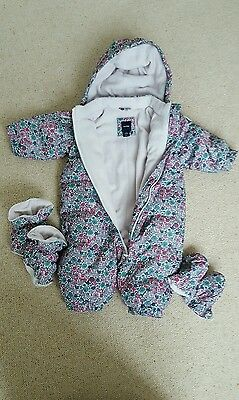 BABY GAP 0-6 Girl's Snowsuit