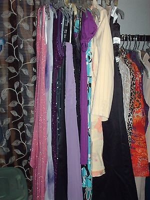 Lot of 17 Formal Dresses Gowns Prom Homecoming Ball Bridesmaids Sz SML