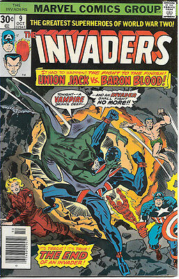 The Invaders #9 (Oct 1976, Marvel)