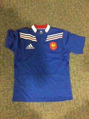 France Home 2012 Jersey Size 14 (35Chest) Years Number 6