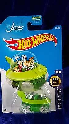 Hot Wheels The Jetsons Capsule Car 2017 Hw Screen Time Famous Cartoon Diecast