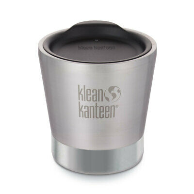 Klean Kanteen 8Oz 237Ml Insulated Vacuum Tumbler Brushed Stainless Free Post