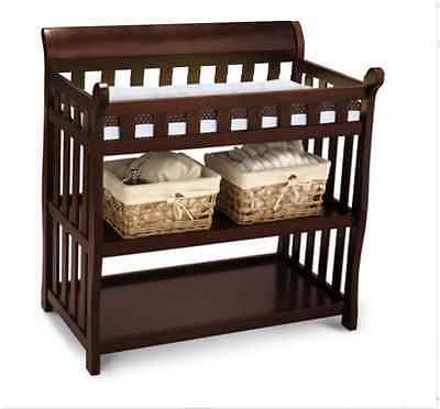 Diaper Changing Table Baby Organizer Storage Shelves Dresser Stand Furniture NEW