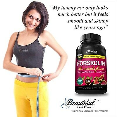 FORSKOLIN, a Miracle Flower that Helps You Detox & Burn Belly Fat - 100% Natural