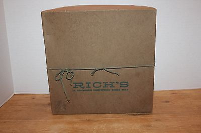Vintage Rich's Department Store Hat Box Atlanta Georgia