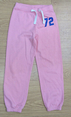 Avenue Kids Girls Tracksuit Bottom Age 7-8 Years Pink Joggers New