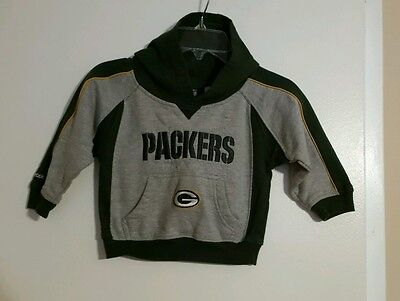 Green Bay Packers Hoodie boy/girl Pullover  2T EUC