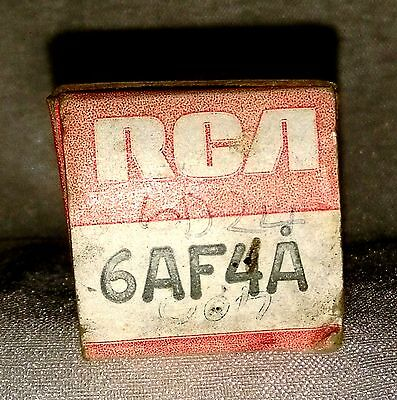 NOS RCA 6AF4A vacuum tube radio TV valve, TESTED