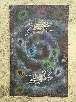 Aboriginal Original  Painting On Canvas
