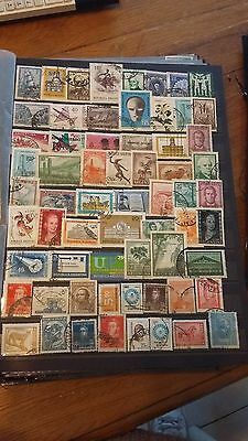 60 timbres Argentine (lot 10)