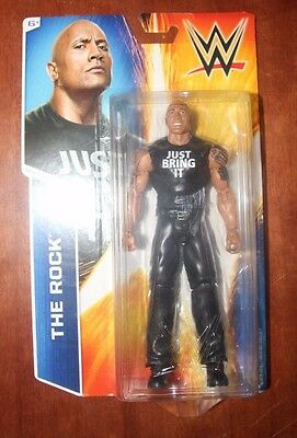 WWE The Rock Superstar Figure, 6-Inch, (The People's Champion!)