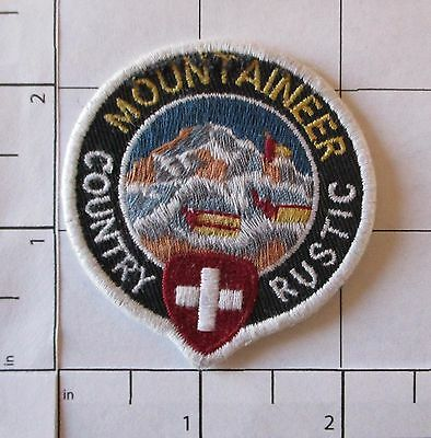 Mountaineer Patch - Country Rustic