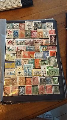 64 timbres Argentine (lot 11)