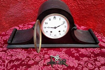 Antique Vintage Seth Thomas Mantle Clock beautiful Chime Made USA For Repair ✞