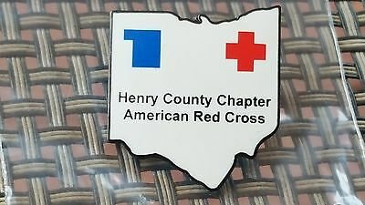 Henry County Chapter American Red Cross. A 1992 pinback.