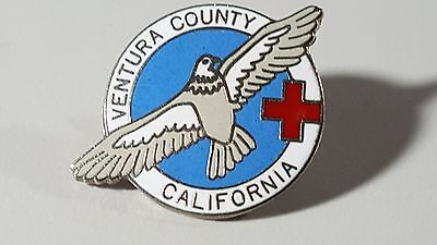 Ventura County Chapter American Red Cross. A 1989 pinback.