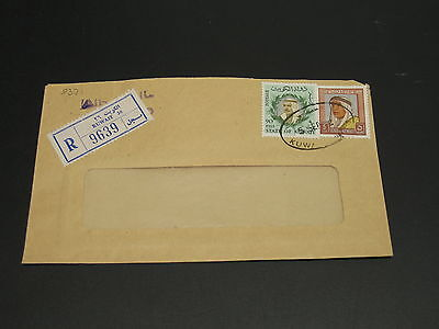 Kuwait 1972 registered airmail cover to Germany *9371