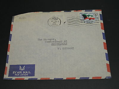 Kuwait 1962 airmail cover to Germany *9380