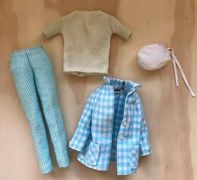 Vintage Barbie Outdoor Life #1637 Partial Clothing Outfit Set