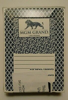 MGM Grand Playing Cards