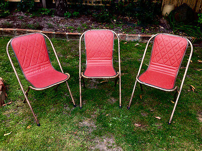 Old Sebel Chairs Vintage Industrial Cafe Chair