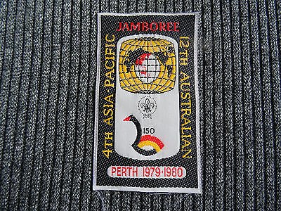 1979 12th Australian Jamboree Perth Scout Badge