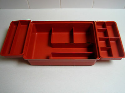 Tupperware Craft Stow N Go Storage Box Sewing Crafts Tackle Tools