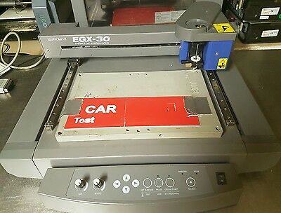Roland EGX-30 engraver with cutter and PC software etc.