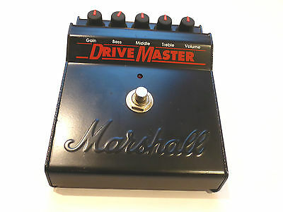 Marshall Drive Master Overdrive Distortion Pedal Vintage Effects Made In England