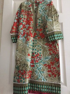 Original Khaadi 2 Piece Kameez Duppata Stitched Small Medium UK Stock Free P&P