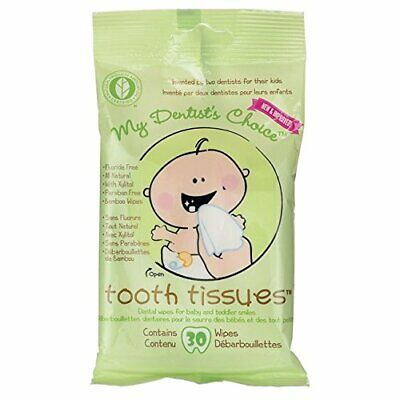 NEW My Dentist'S Choice Dental Wipes Tooth Tissues - 30 Count
