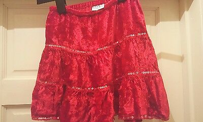 girls party skirt age 3 4