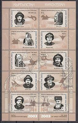 Kyrgyzstan Kirgistan MNH** 2003 Mi.333-342 KB Year of Kirgis Nationhood