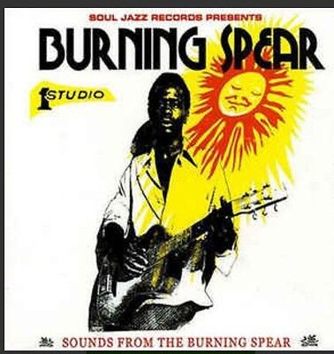"""Sounds From The Burning Spear LP Vinyl 2x12"""" Soul Jazz Rare!"""