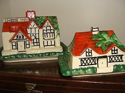 Antique L & Sons Ltd Handley Cheese & Butter Dishes
