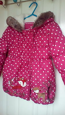 baby girls coat Sainsbury Tu age 18 months- 2 years